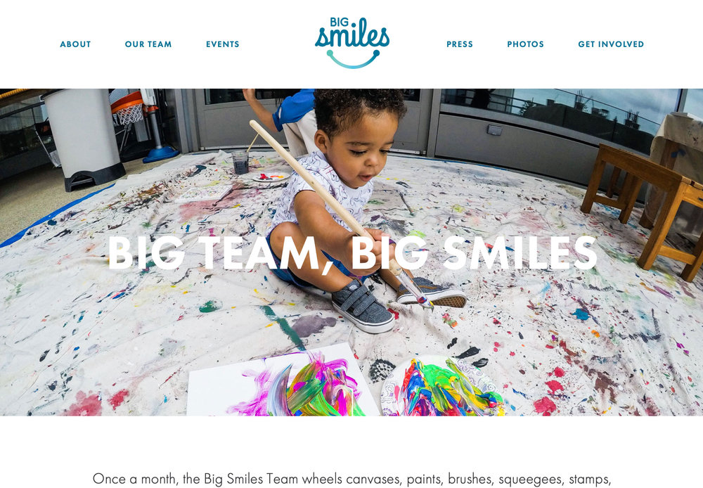 SquareSpace Web Designer Venice, Big Smiles