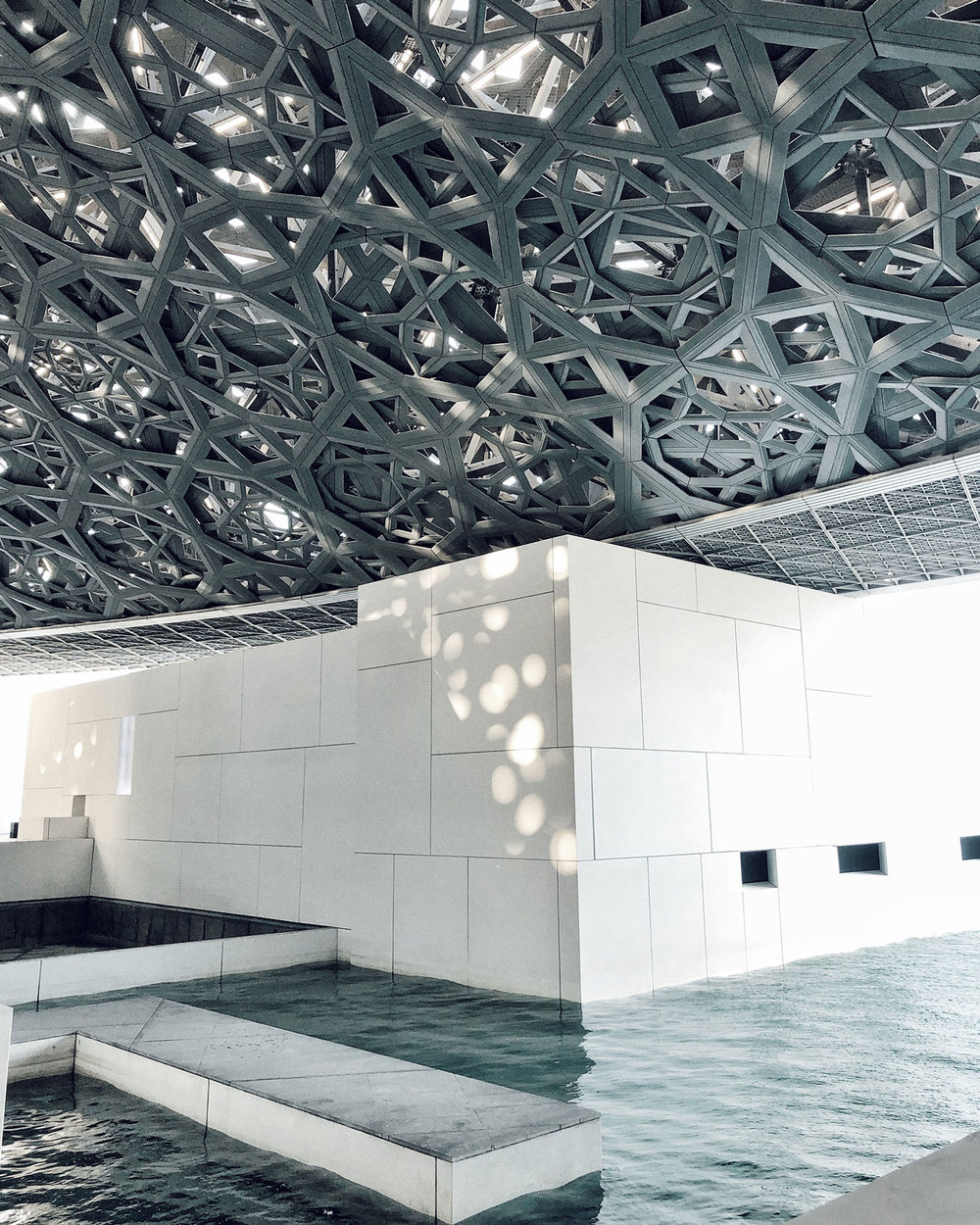 Lourve Abu Dhabi Star Ceiling Travel Photography / Dubai Travel Tips