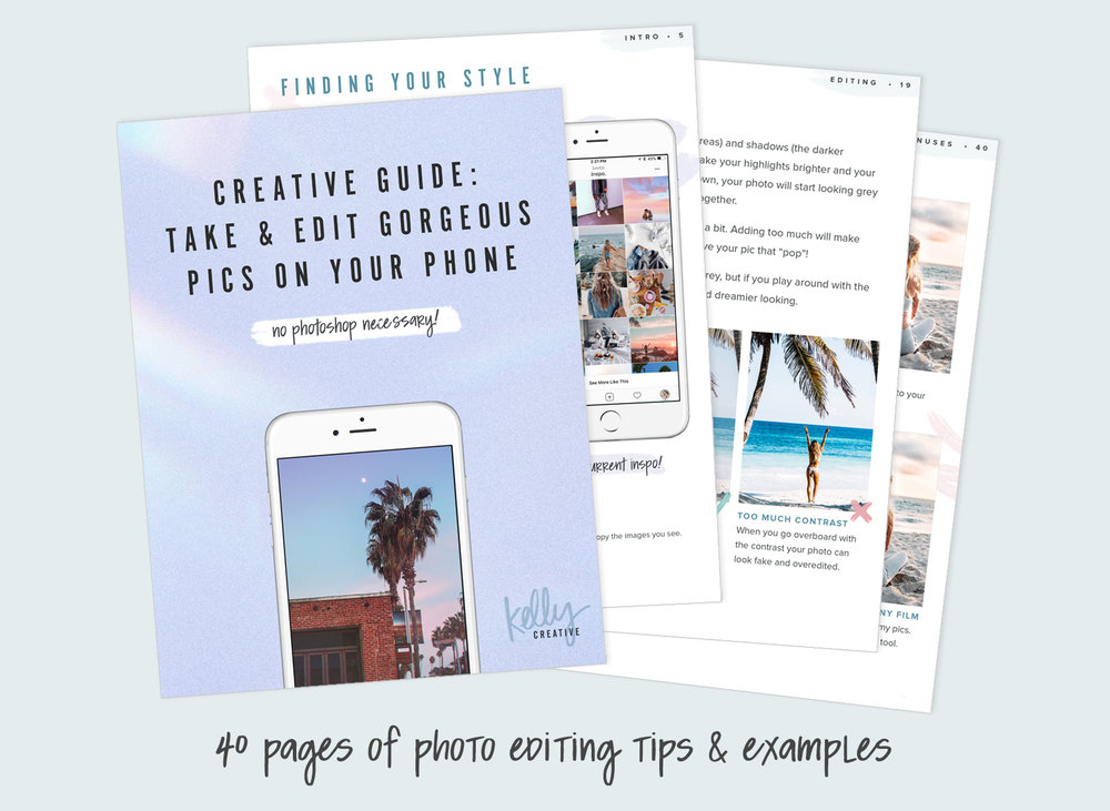 How to Edit your photos on iPhone for instagram