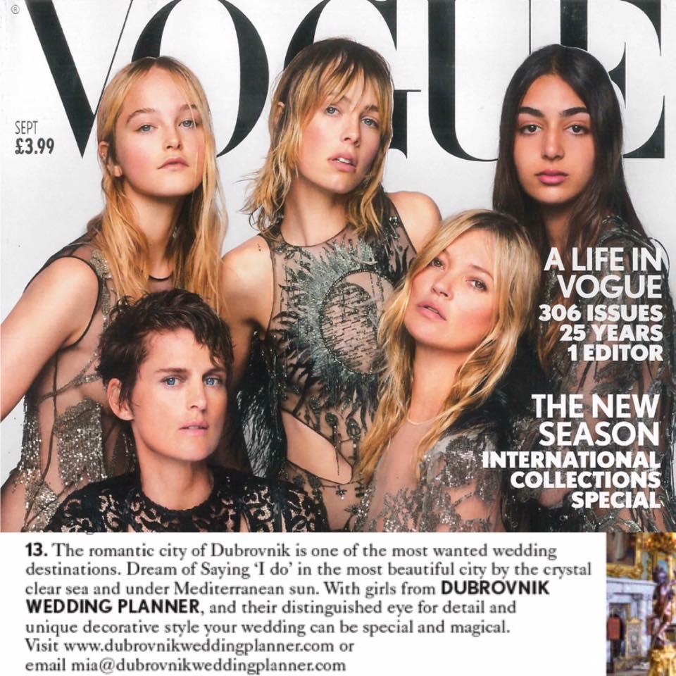 British Vogue's Wedding WishList