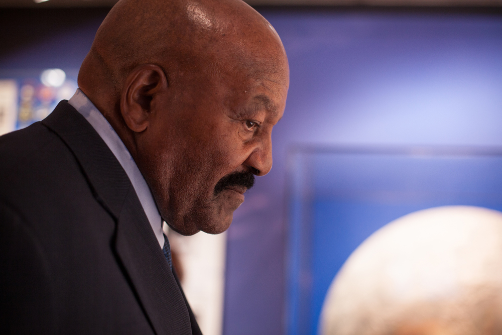 I got to photograph former NFL Cleveland Browns player, Jim Brown during the Civil Rights Summit.