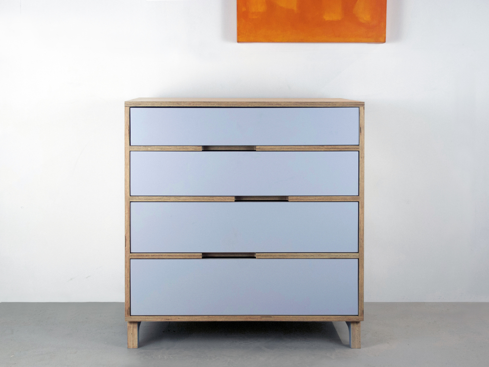 Modern baltic birch dresser