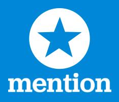 mention monitoring application logo