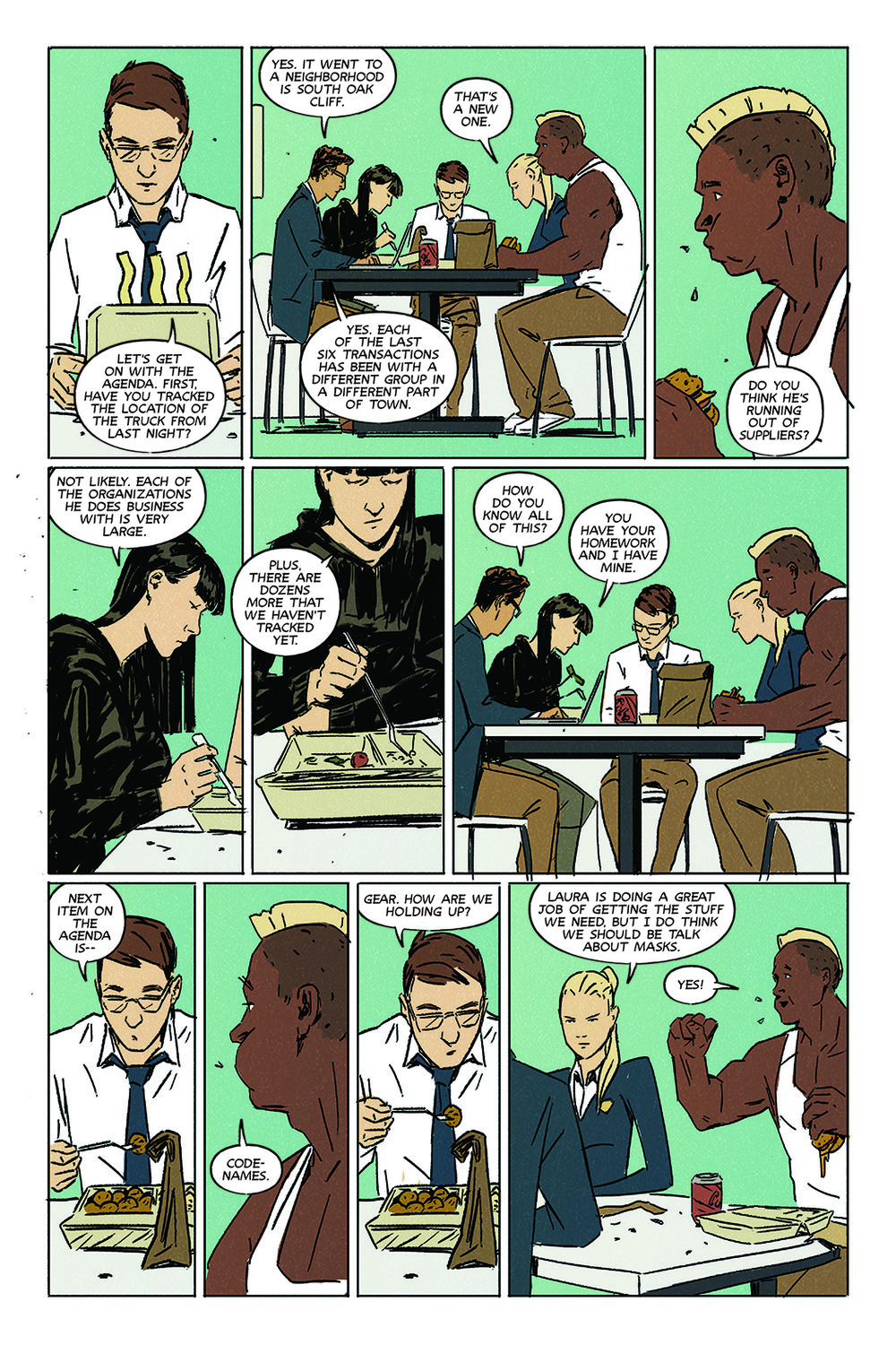 NIGHT OWL SOCIETY #2 PAGE 13 IDW
