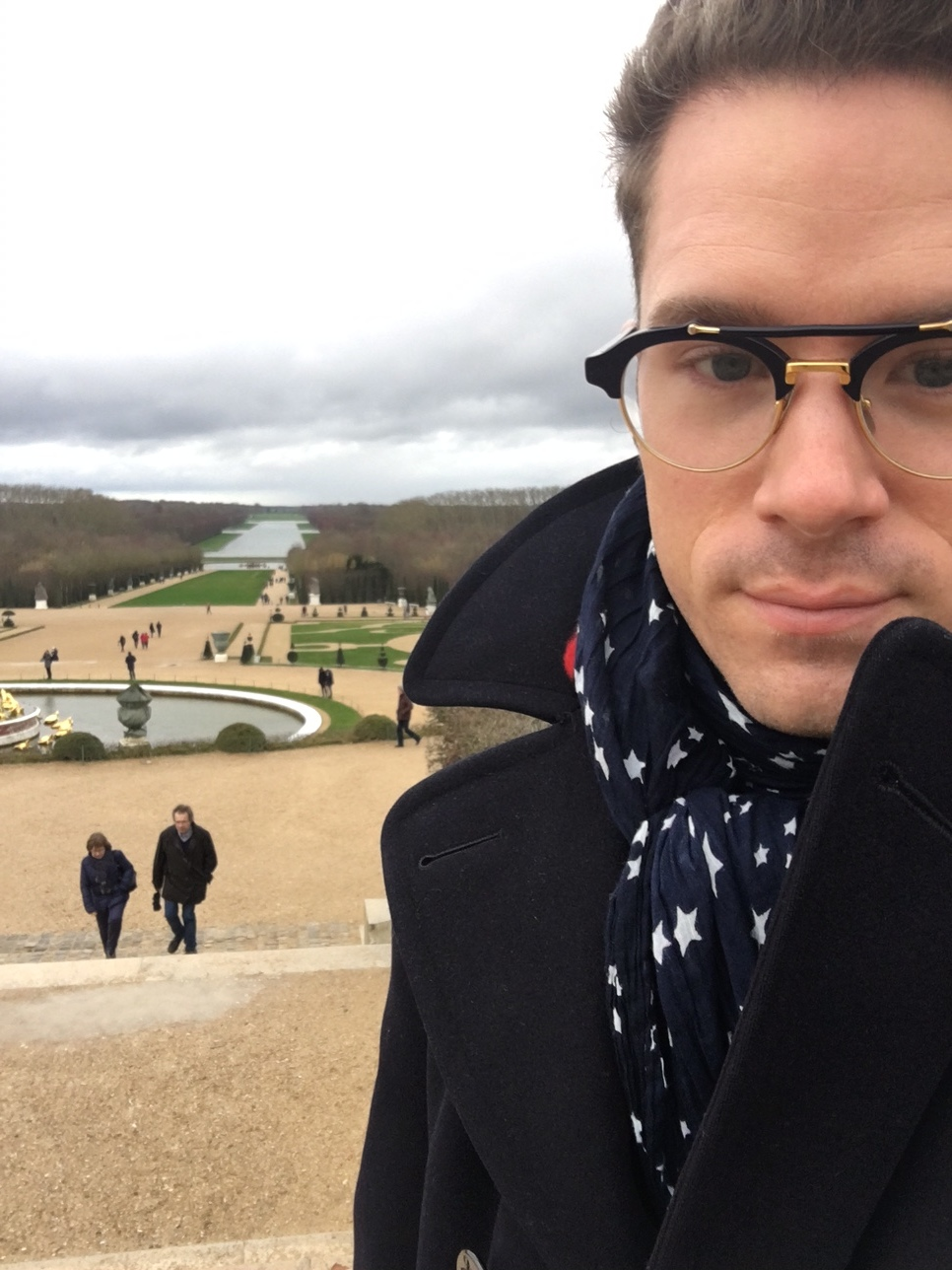 Scarf Style at Versailles