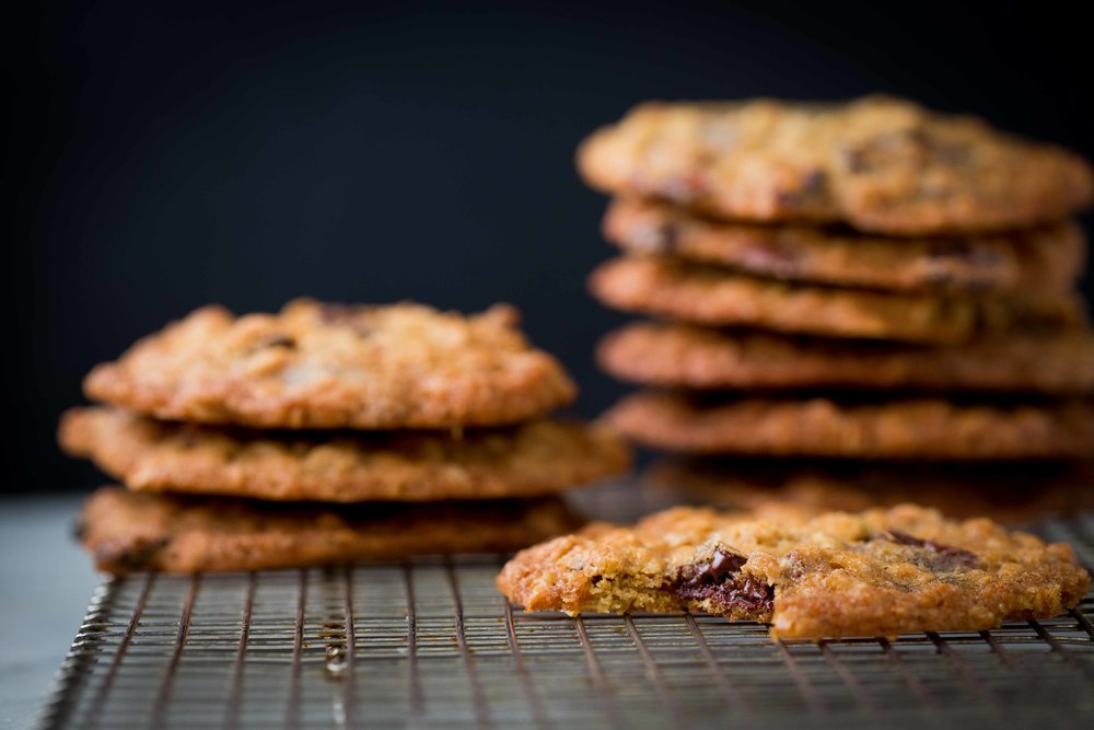 cranberry chocolate chip cookies 2