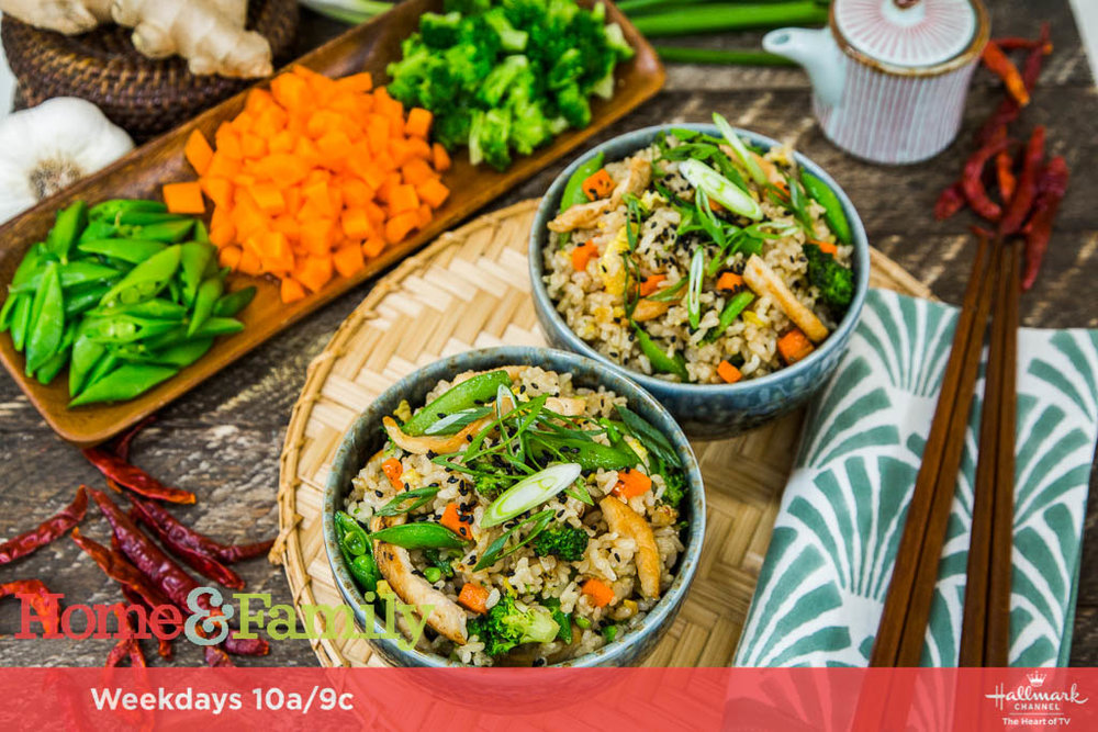 chicken fried rice bowls