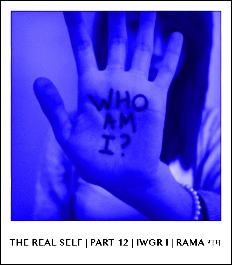 THE REAL SELF   ➤➤