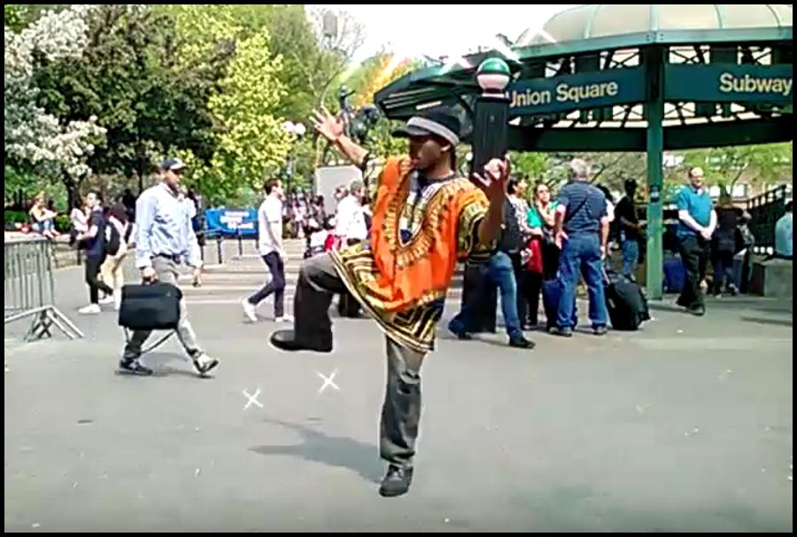 HARE KRISHNA KIRTAN & DANCE | USQ PARK NYC | VIEW VIDEO BELOW