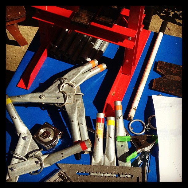 The primary shop bench. #tools #archimedesdsgn #brooklyn