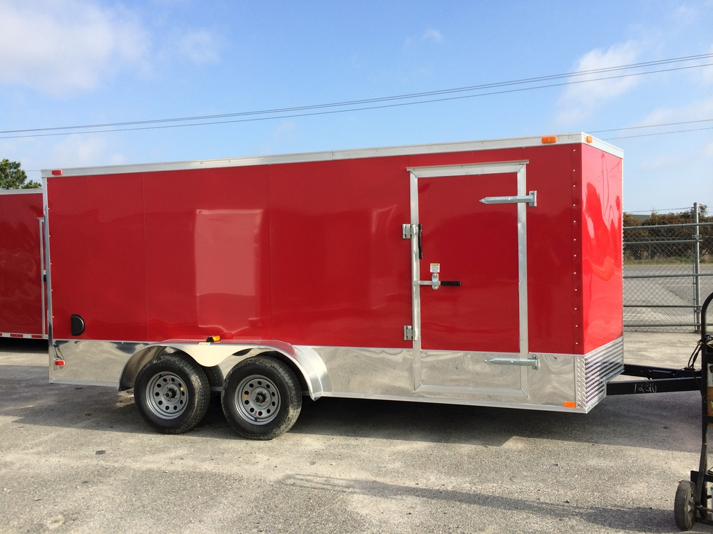 Husky Cargo Stock Car Trailer