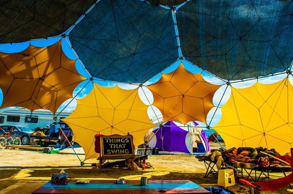 16 facet, Radial Configured Bucky Dome
