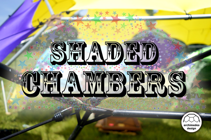 """Enter into the Shaded Chambers, a place for exploration and discovery. Let your imagination take you away, transform your space and your mindset!"""