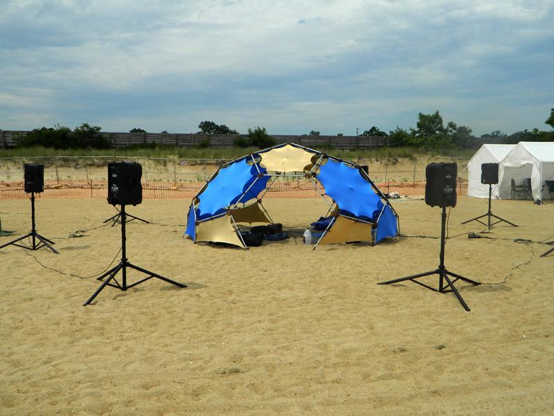 Soundbath dome