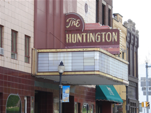 About the Huntington Theater, Huntington Indiana