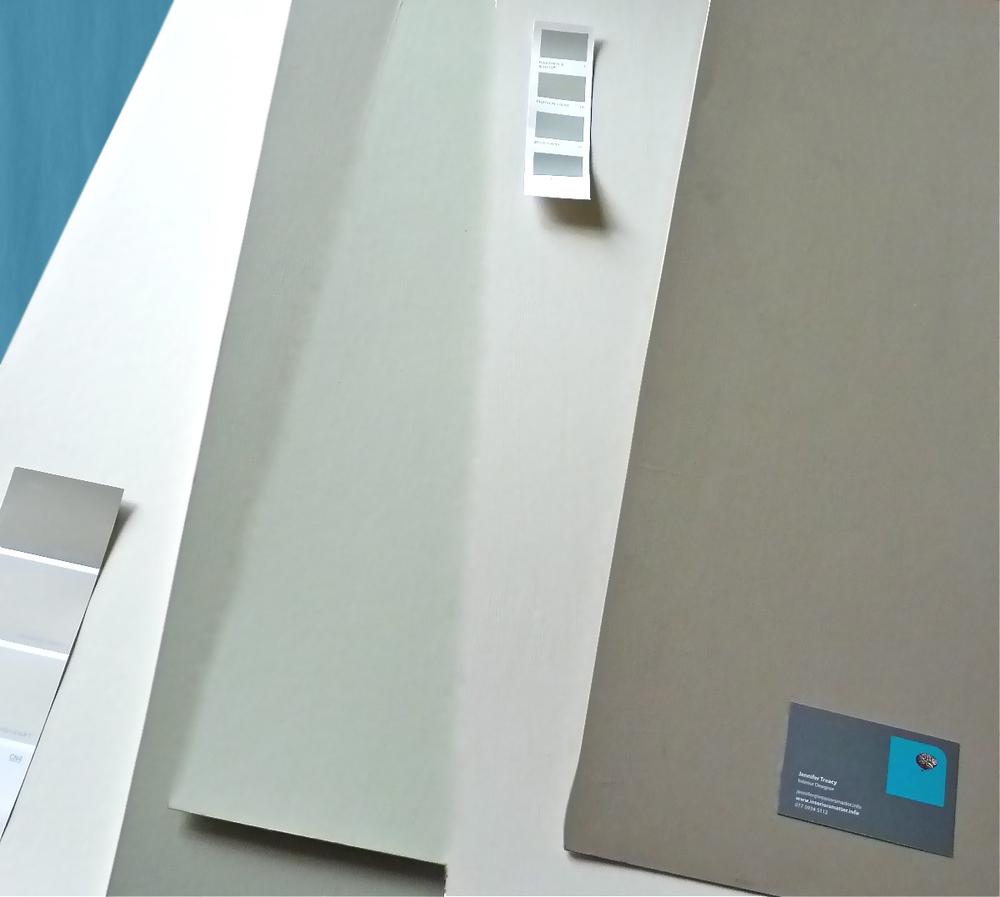 Paint Sample Boards | www.interiorsmatter.com