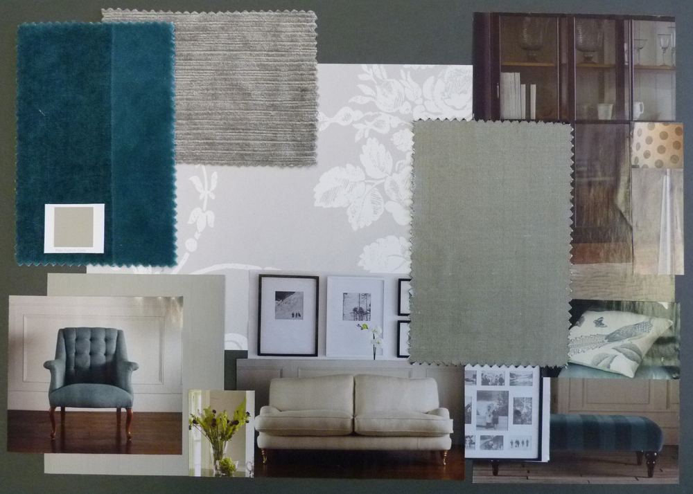 Laura Ashley Design Competition Living Room Board