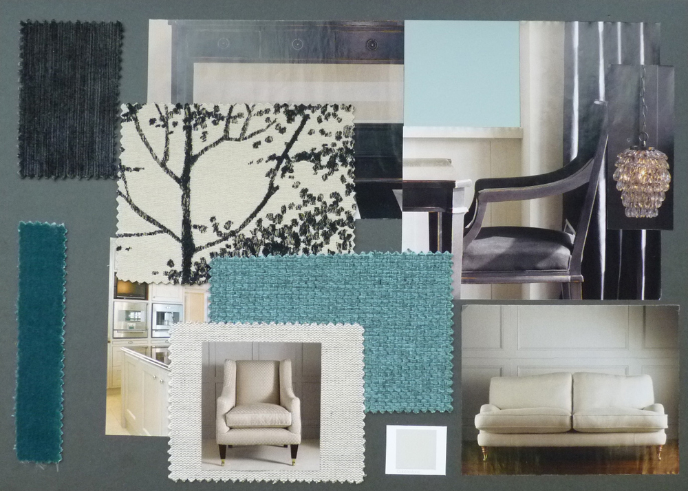 Laura Ashley Design Competition Family Room Board