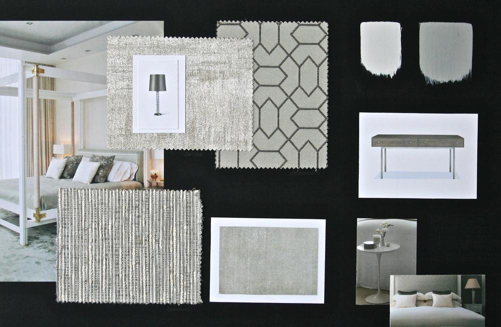 Guest Bedroom Design Board | www.interiorsmatter.com
