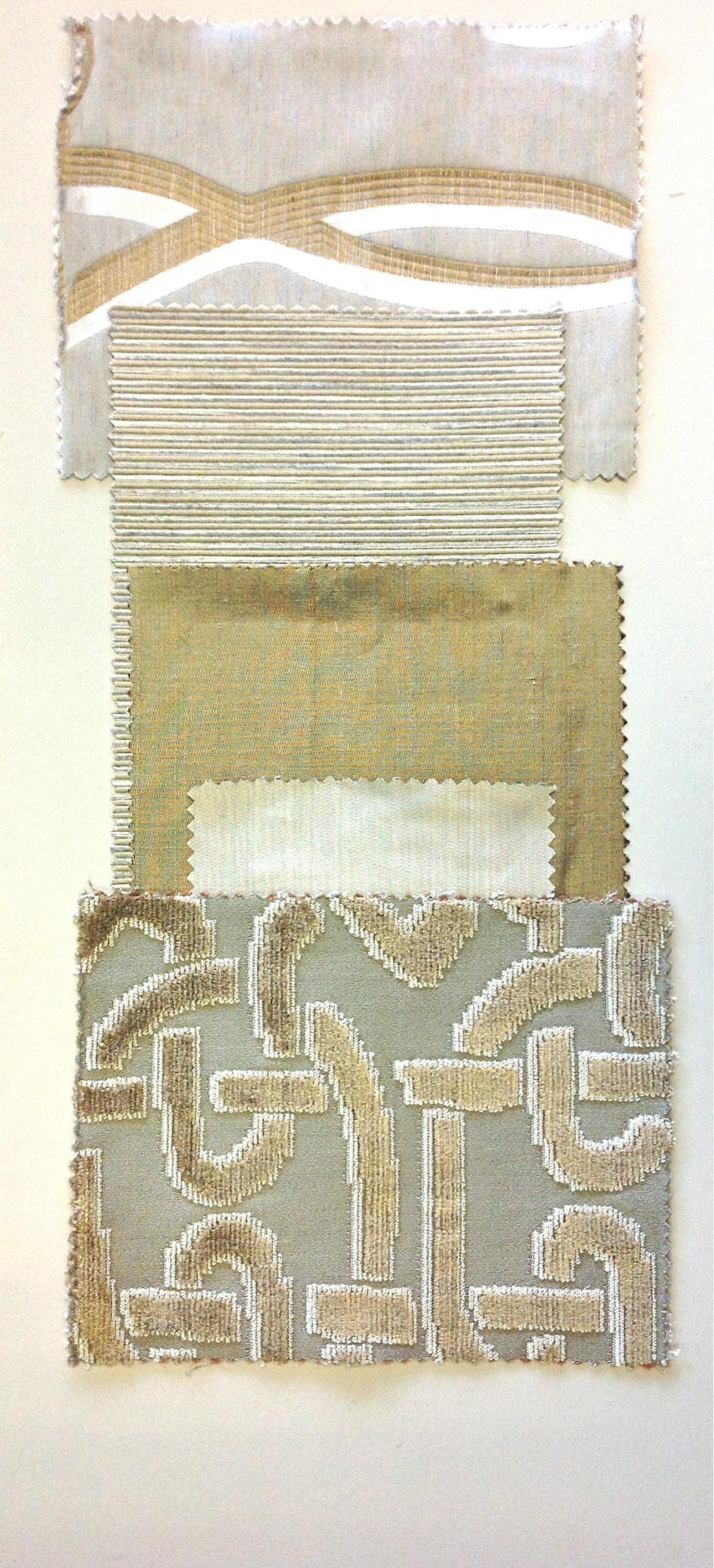 Fabrics Group with Paint | www.interiorsmatter.com
