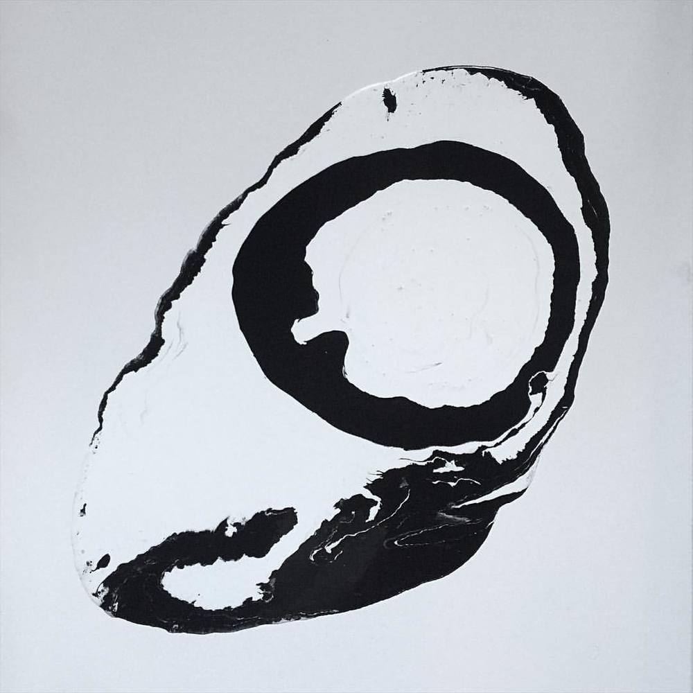 Yin Yang painting (at Art by Kamran Samimi)