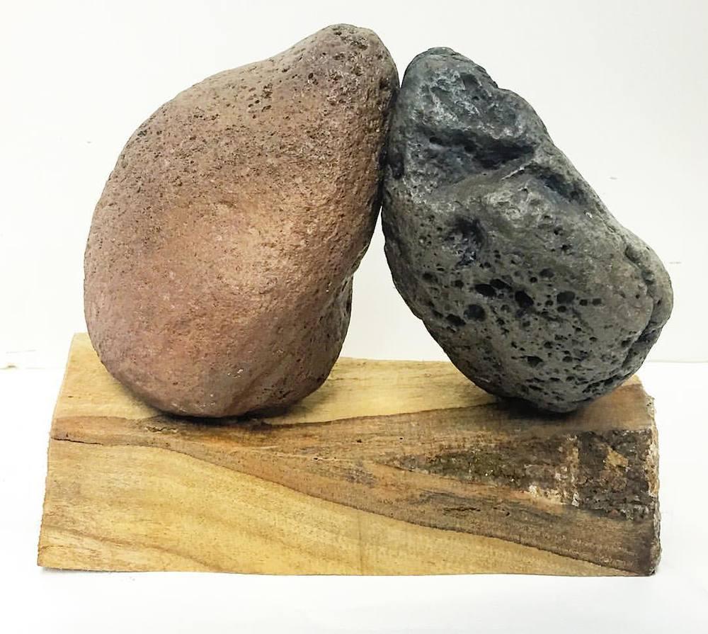 Stone Friends (at Art by Kamran Samimi)