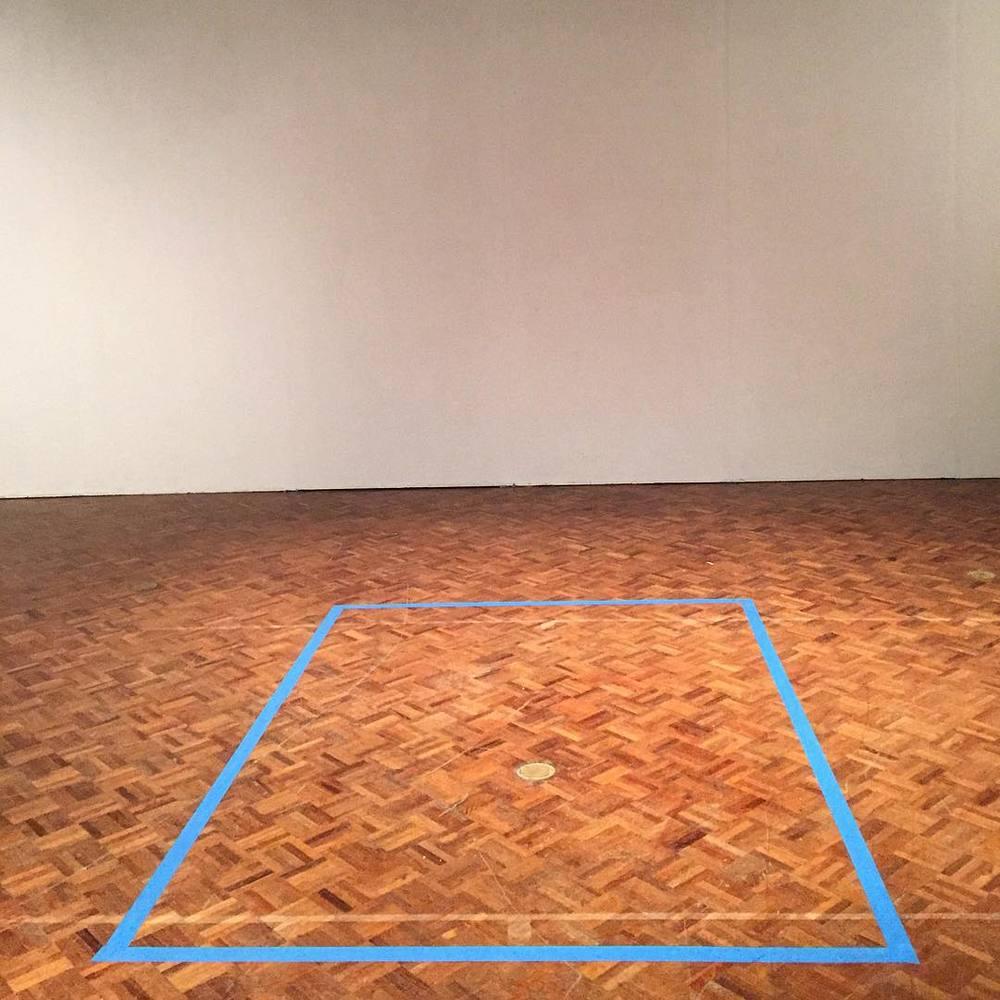 Thesis project footprint (at University of Hawaii at Manoa - Department of Art and Art History)