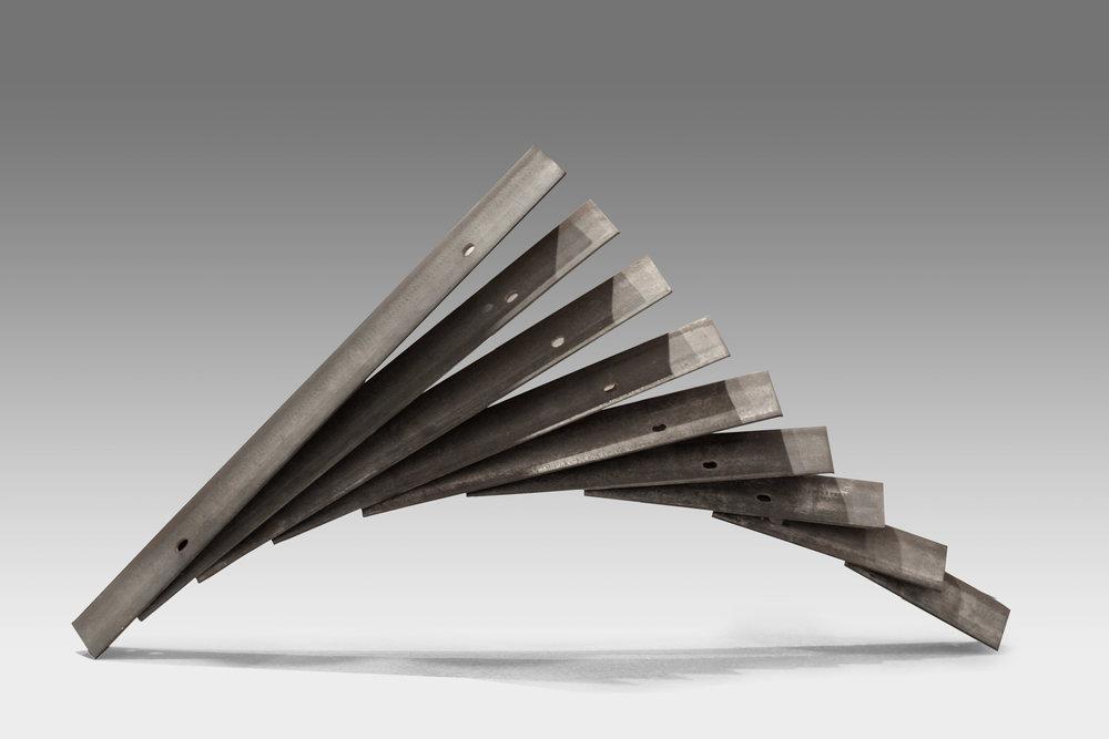"$2600 - Gravity, 28""x40""6"", Steel"