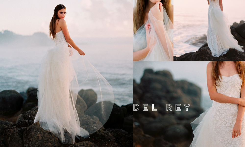 Gossamer and ethereal, Del Rey seems right at home at the coast.