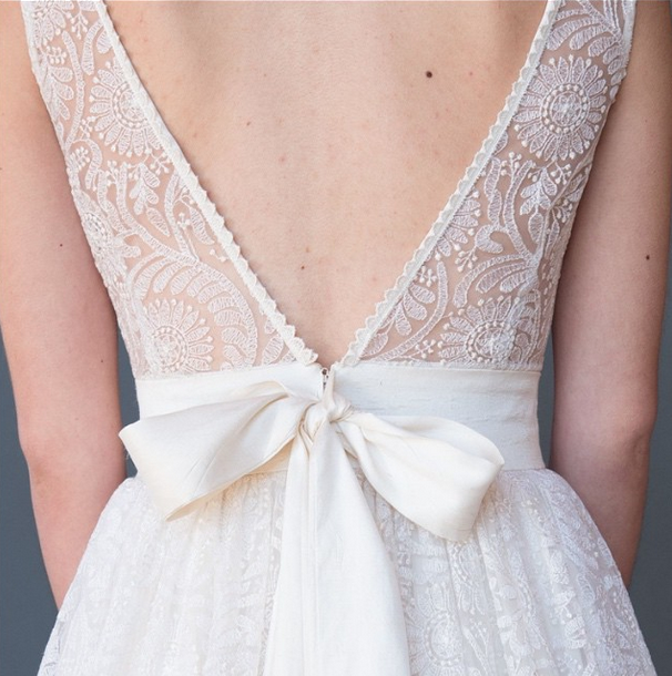 """Teresa"" by Celia Grace- just look at that embroidered tulle!"