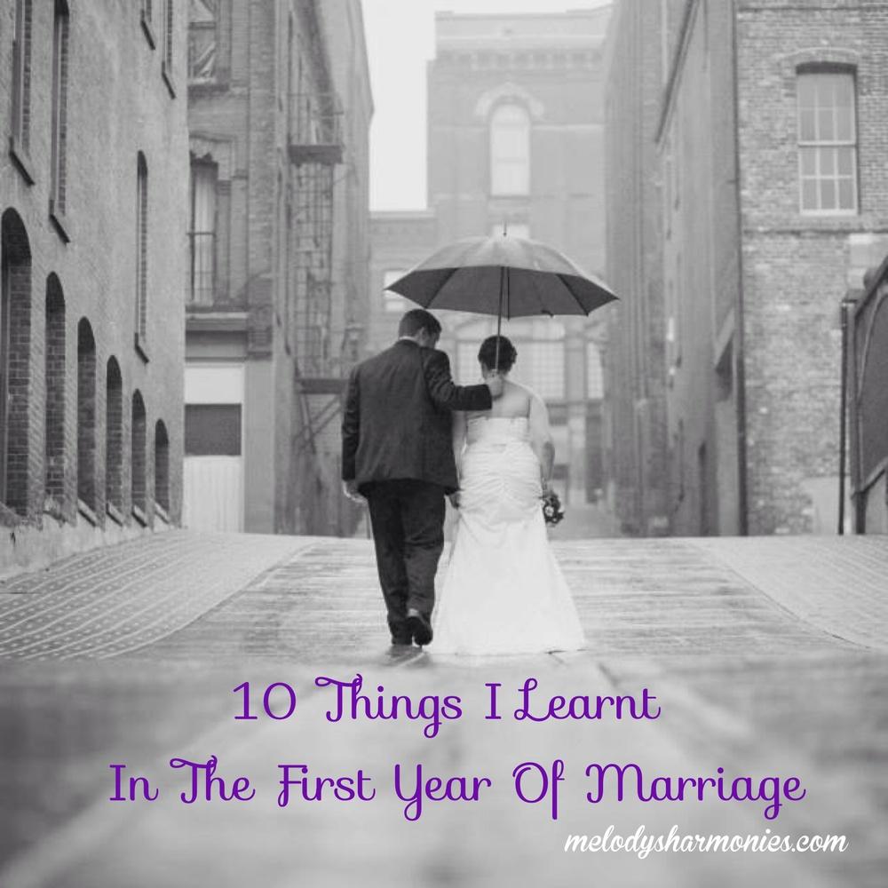 thingsilearninfirstyearmarriage