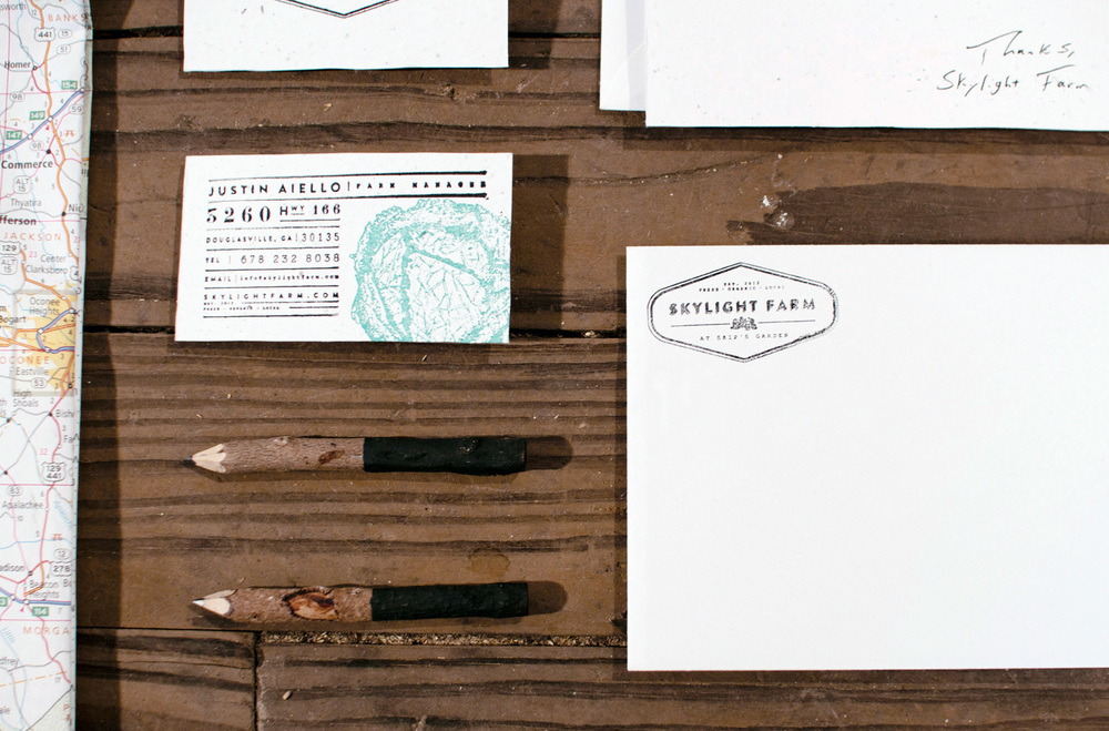 Skylight Farm Logo Design and Brand Identity by Russell Shaw ...