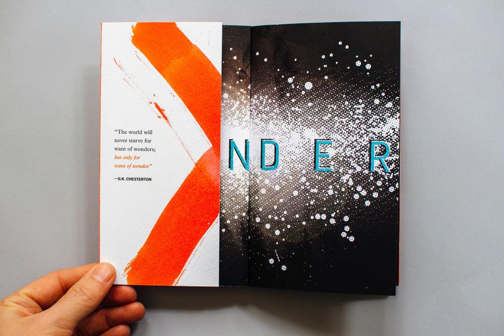 awaken the wonder, french flap design