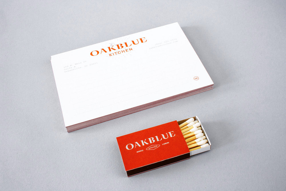 oakblue kitchen stationery and matchbox