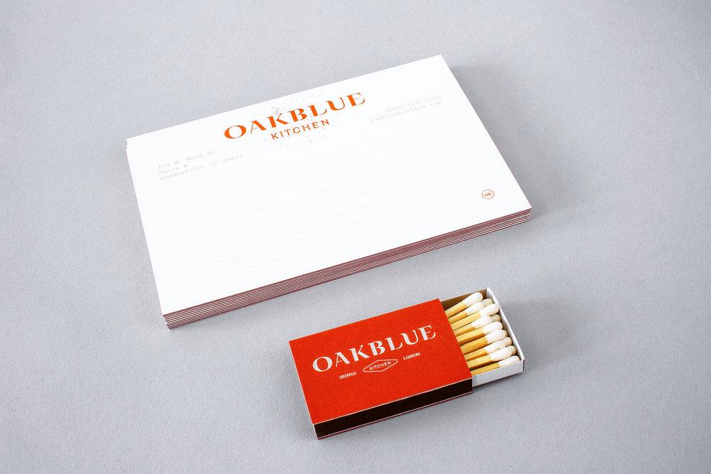 oakblue kitchen stationery and matchbox
