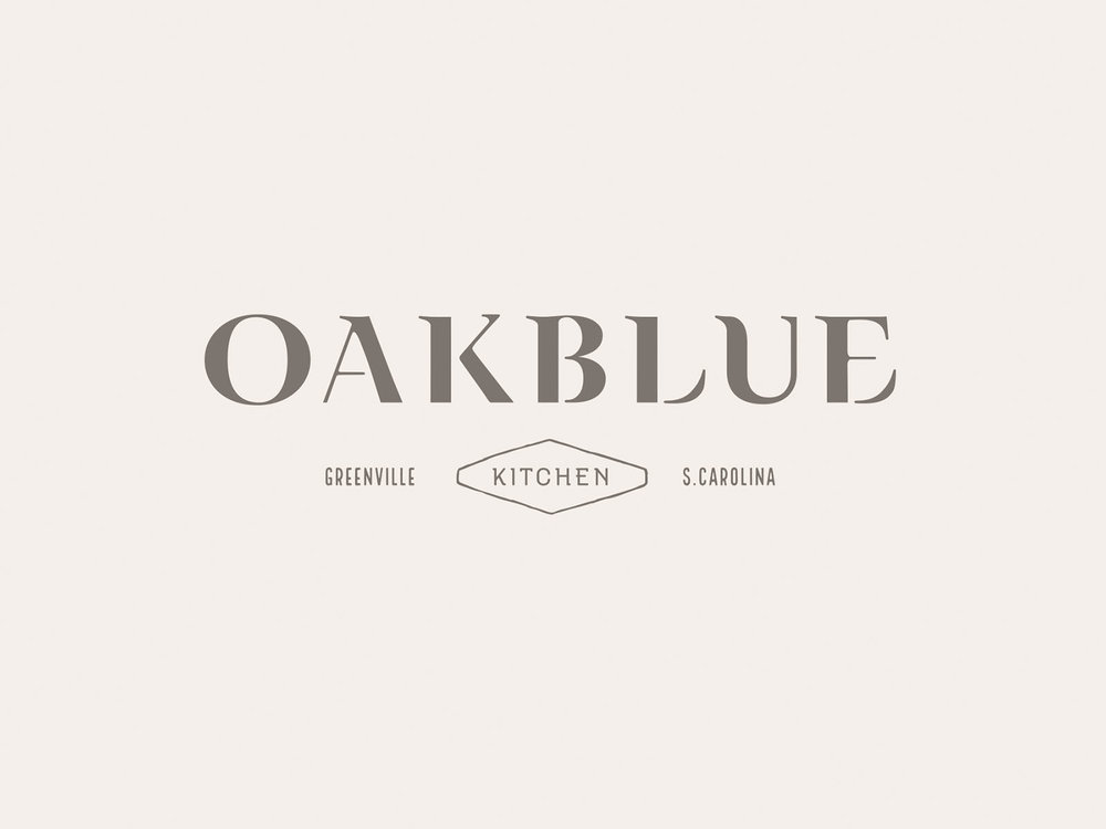 Oakblue Kitchen Branding — Russell Shaw