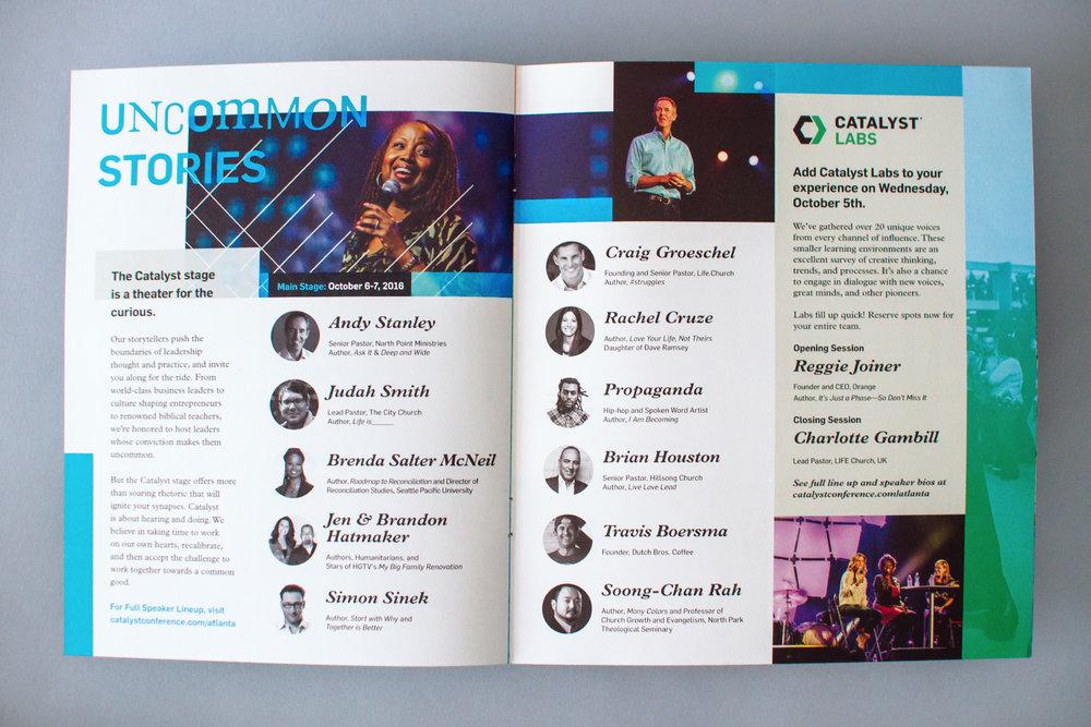 catalyst uncommon fellowship brochure spread four