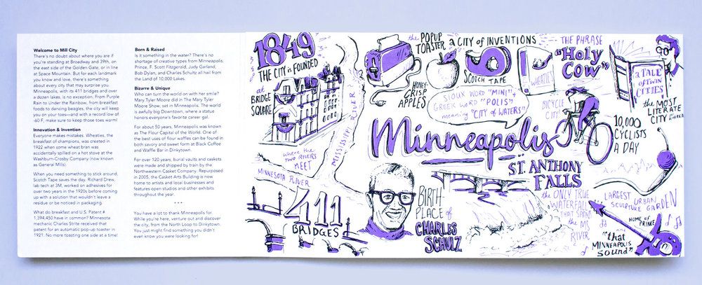 Neenah Minneapolis Illustration Fun Facts