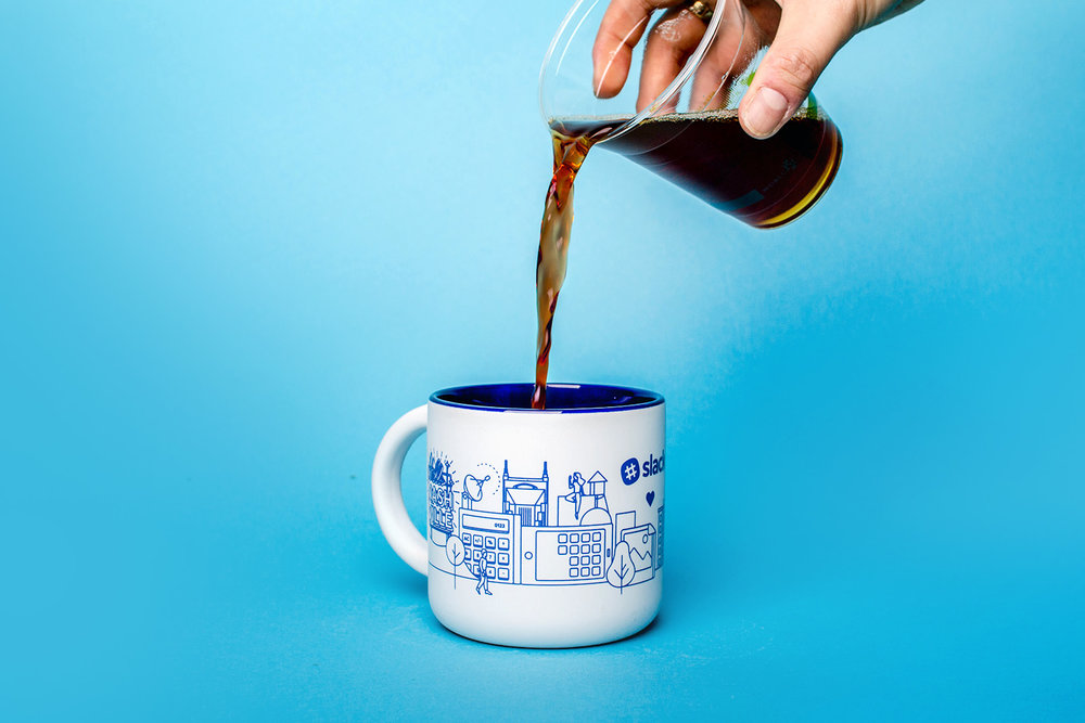 slack nashville coffee mug