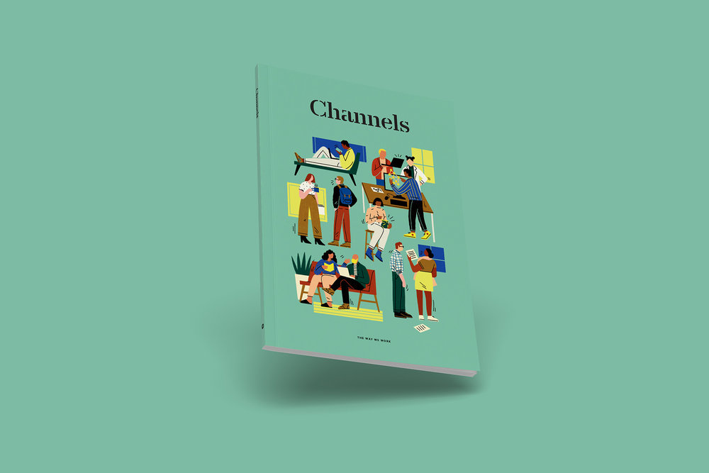 Channels  – A Publication by Slack, Art Direction and Design