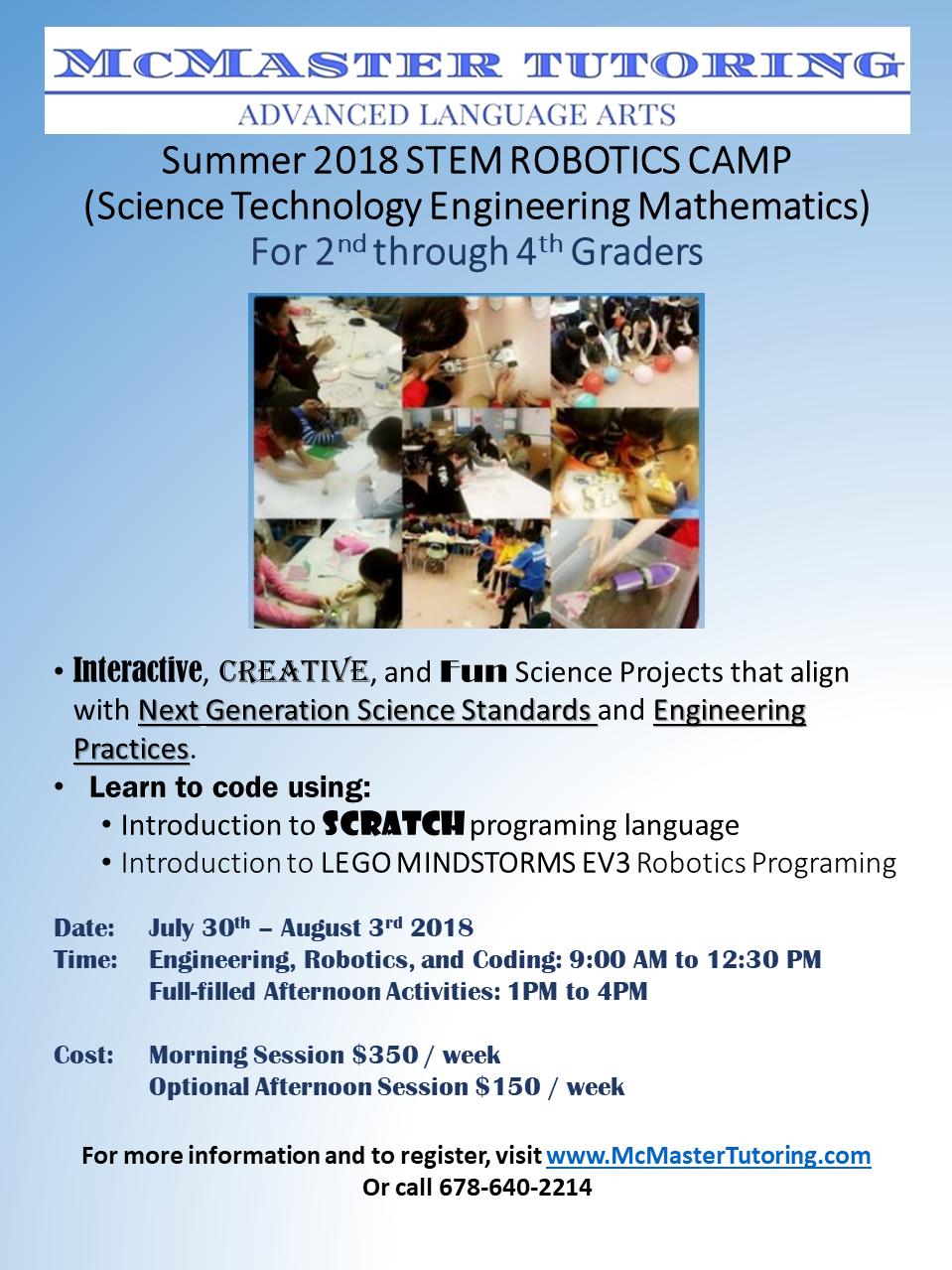 2018 Summer STEM CAMP flyer lower grade1.png