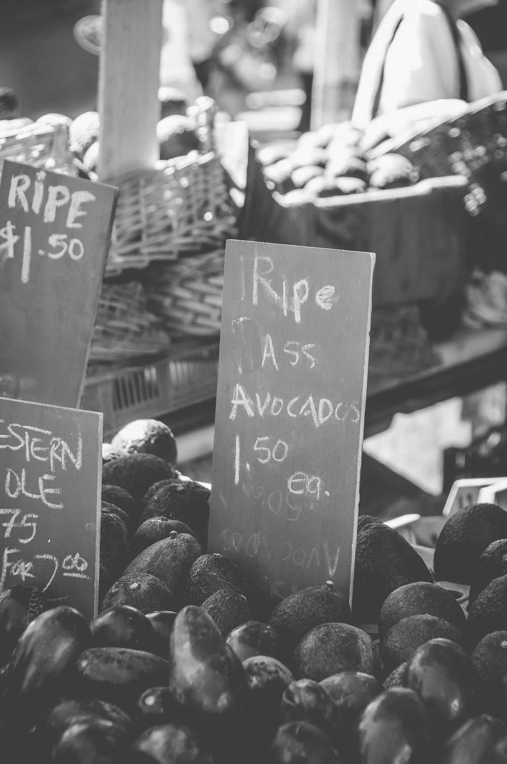 ... and saw some ripe ass avocados.