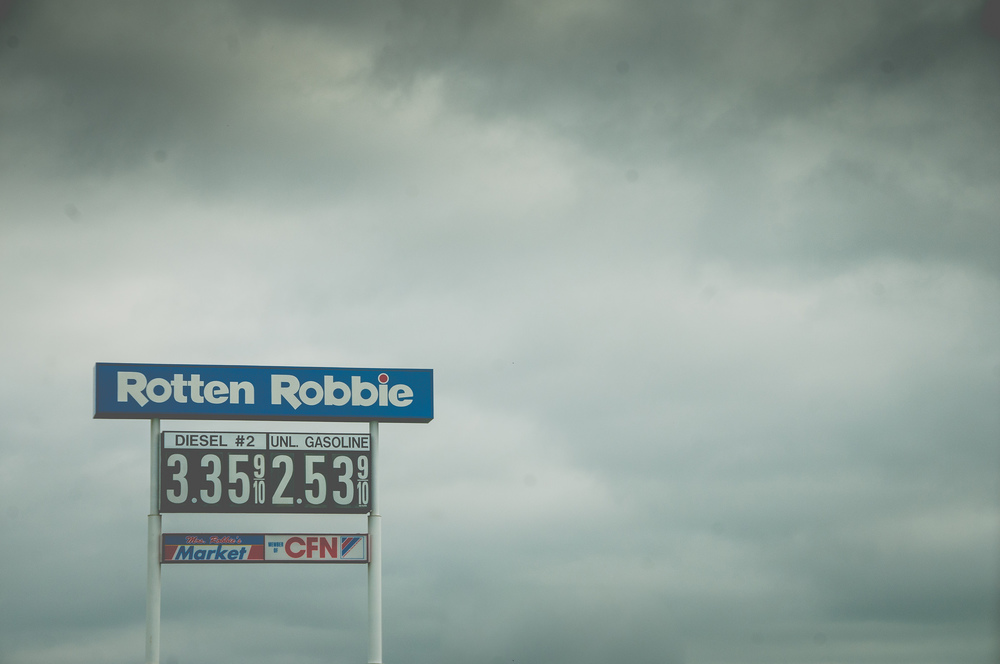 I had never heard of a Rotten Robbie  store before...