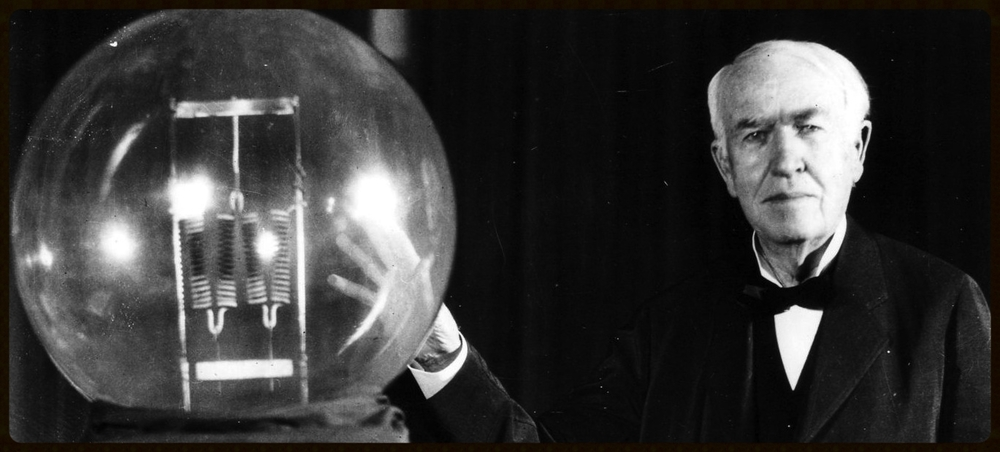 """I've not failed. I've just found 10,000 ways that won't work."" -Thomas Edison.   Source, thinkjarcollective.com."