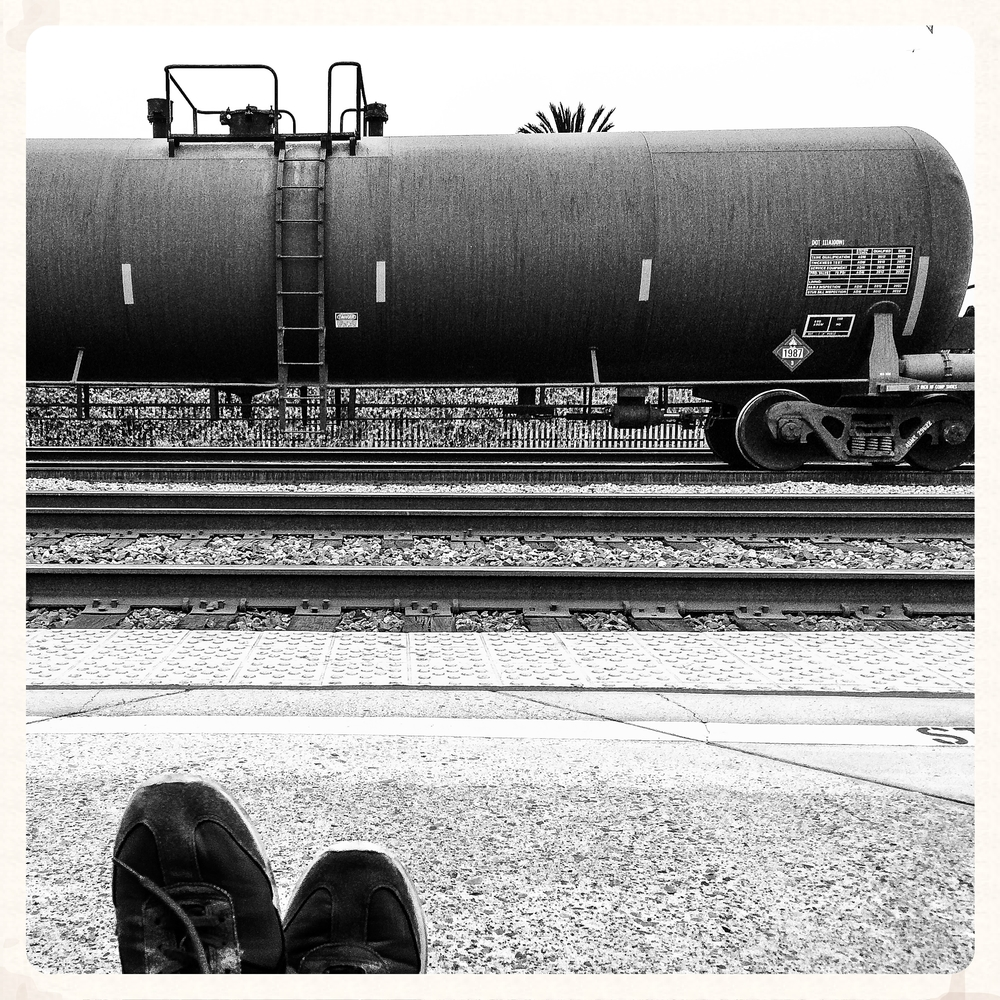 2013, Homeless and Amtraking.