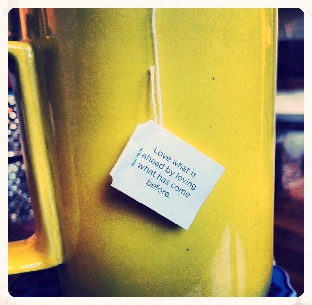 Bonus,Kava tea comes with a fortune.