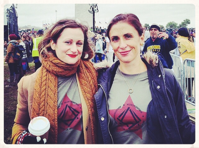 Washington D.C., October, 2015. Laura McKowen and I at Unite To Face Addiction. She commented on an Instagram post of mine in 2014, a few weeks later we were talking as I rode a bus from LA to San Francisco, and now we talk every day and run the HOME podcast together. I wouldn't know how to function without her.