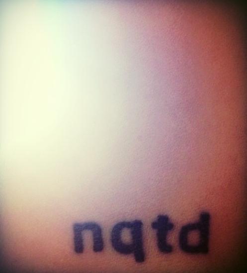 August, 2013. Fresh ink.