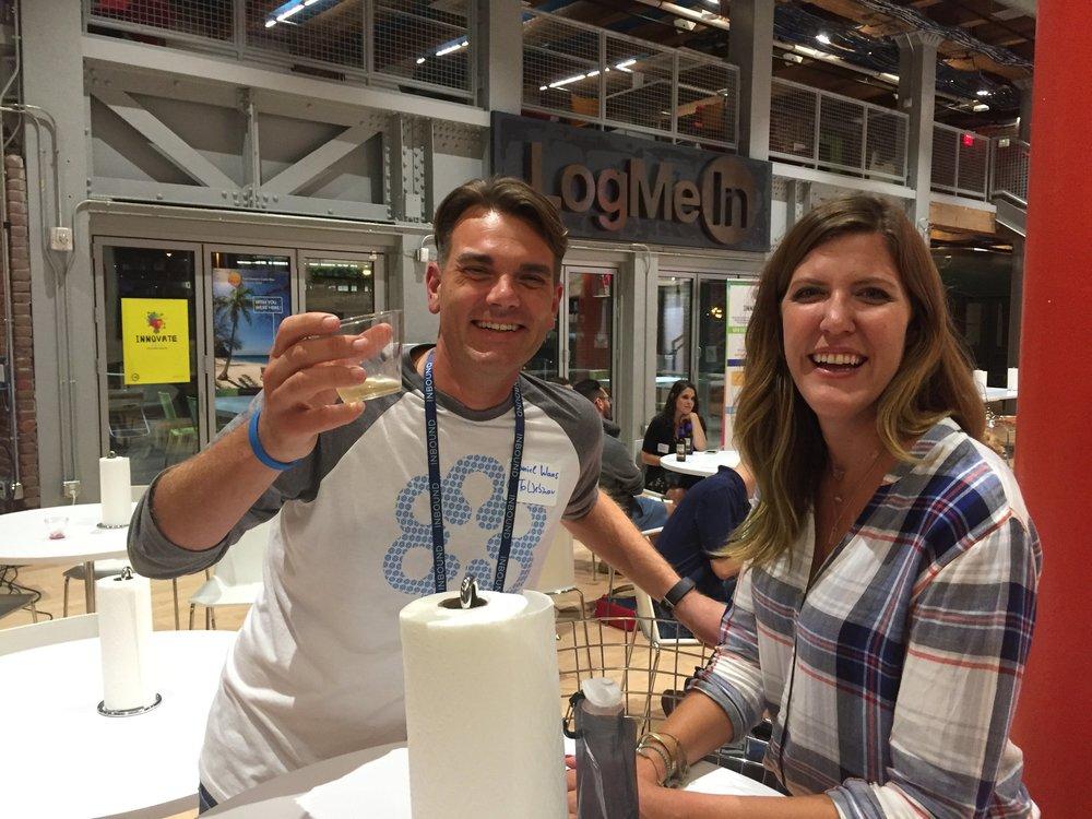 Dan Waas and Arestia Rosenberg.