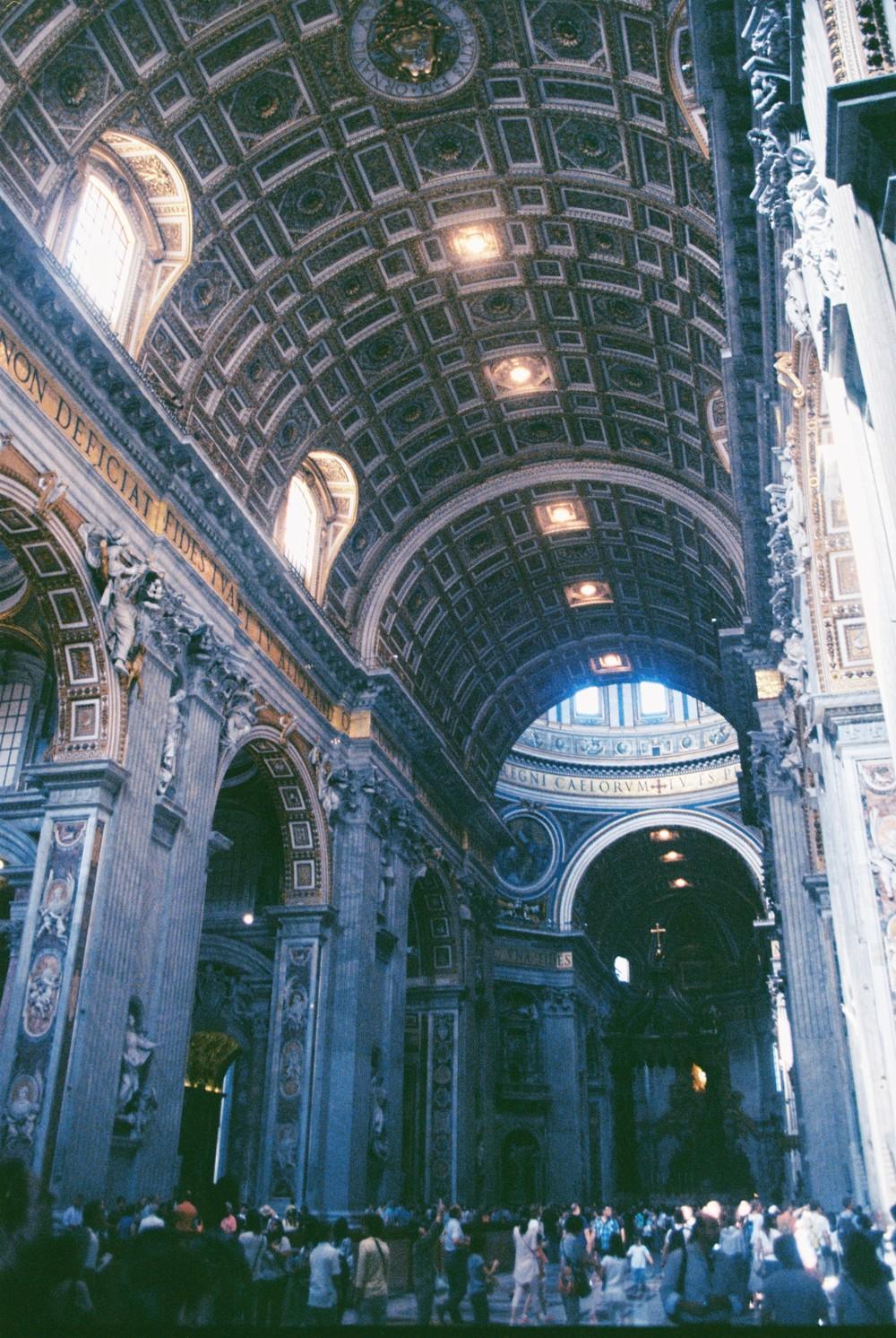 St Peter's Basillica.